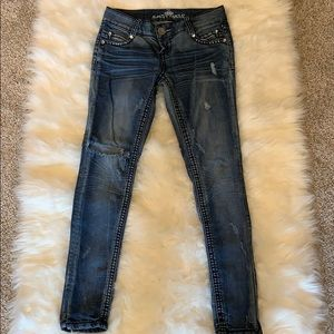 Almost Famous Jeans Size 5